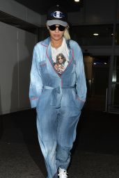 Rita Ora at Heathrow Airport in London, October 2015