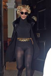 36423e8592f Rita Ora Fashion - Leaving a Hotel in London