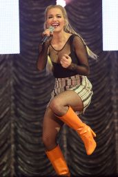 Rita Ora - KISS Haunted House Party at Wembley Arena in London, October 2015