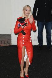 Rita Ora - Leaving the X-Factor Studios in London, October 2015