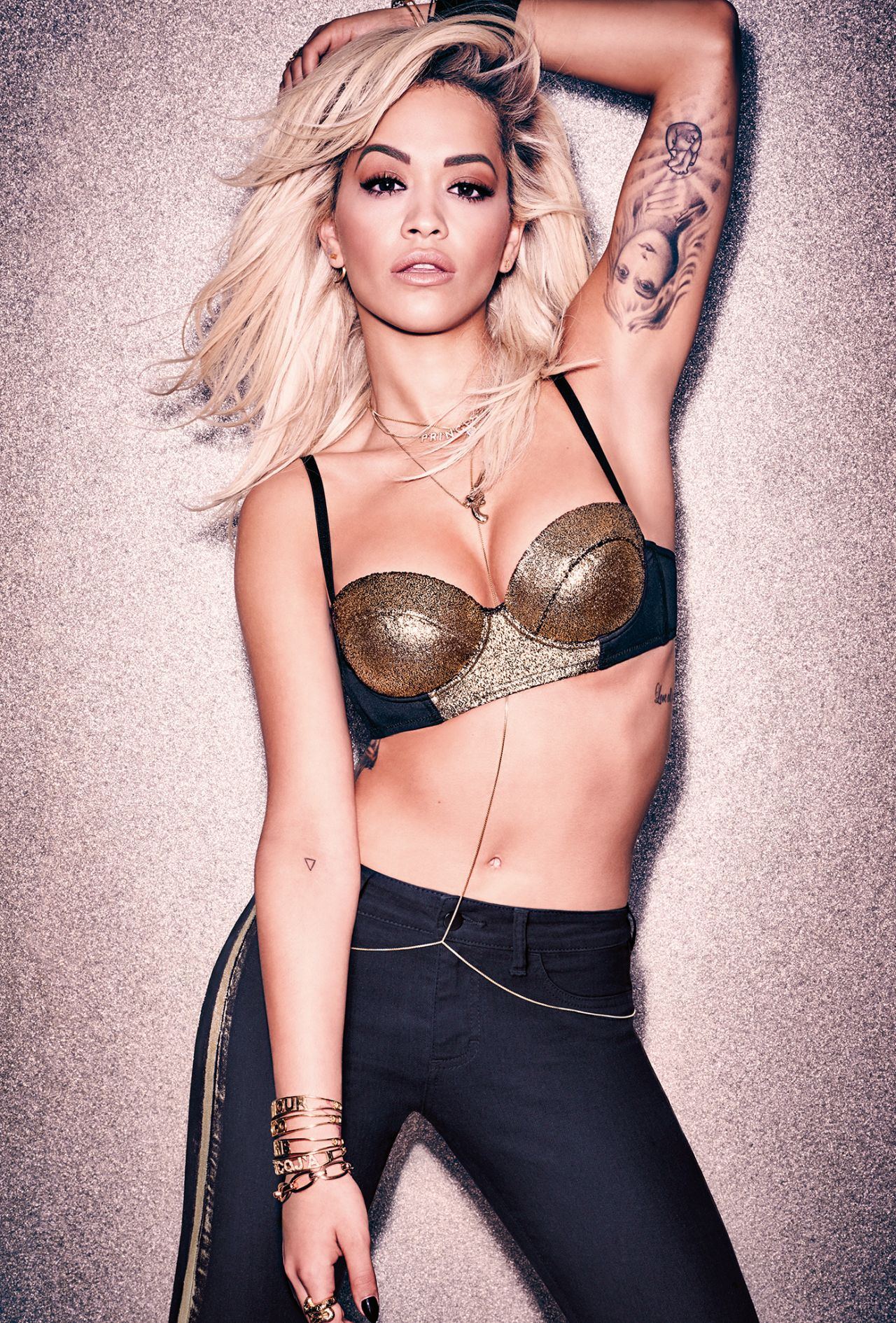 Rita Ora Fashion Shoot Photos: OK Magazine (UK) October 2015 Photos