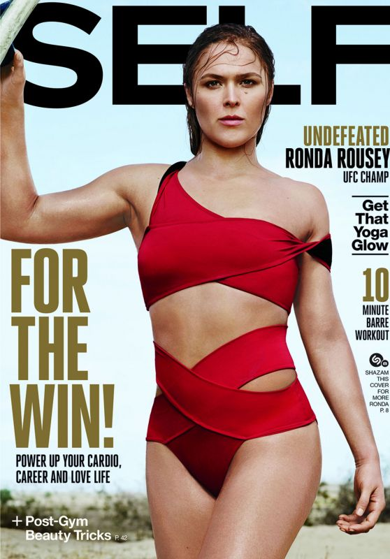 Ronda Rousey - Self Magazine November 2015