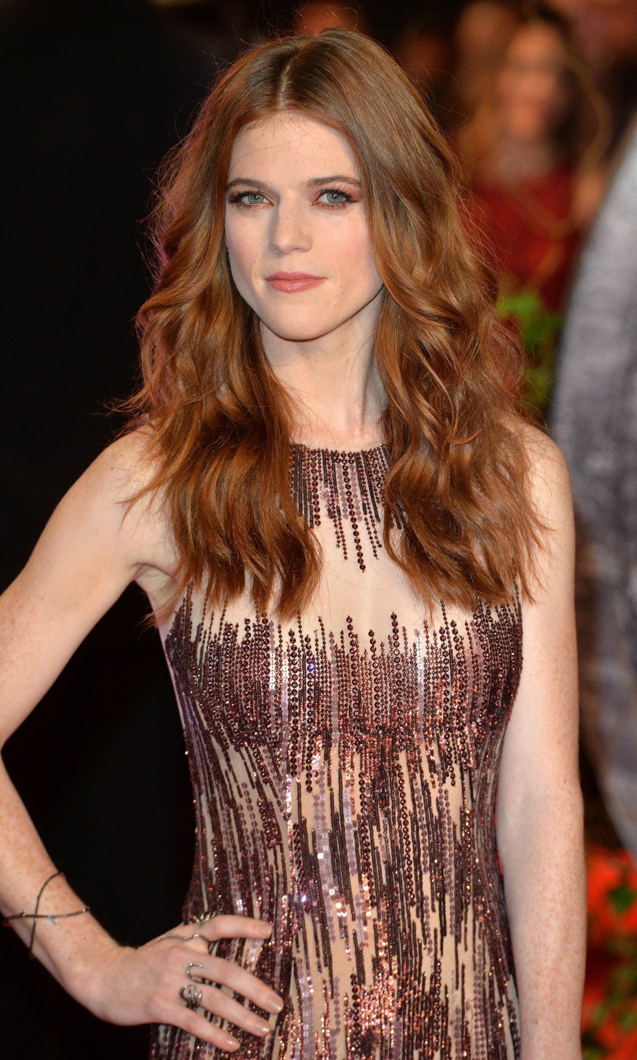 Rose Leslie The Last Witch Hunter Premiere In London