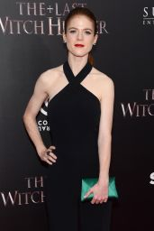 Rose Leslie - The Last Witch Hunter Premiere in New York City