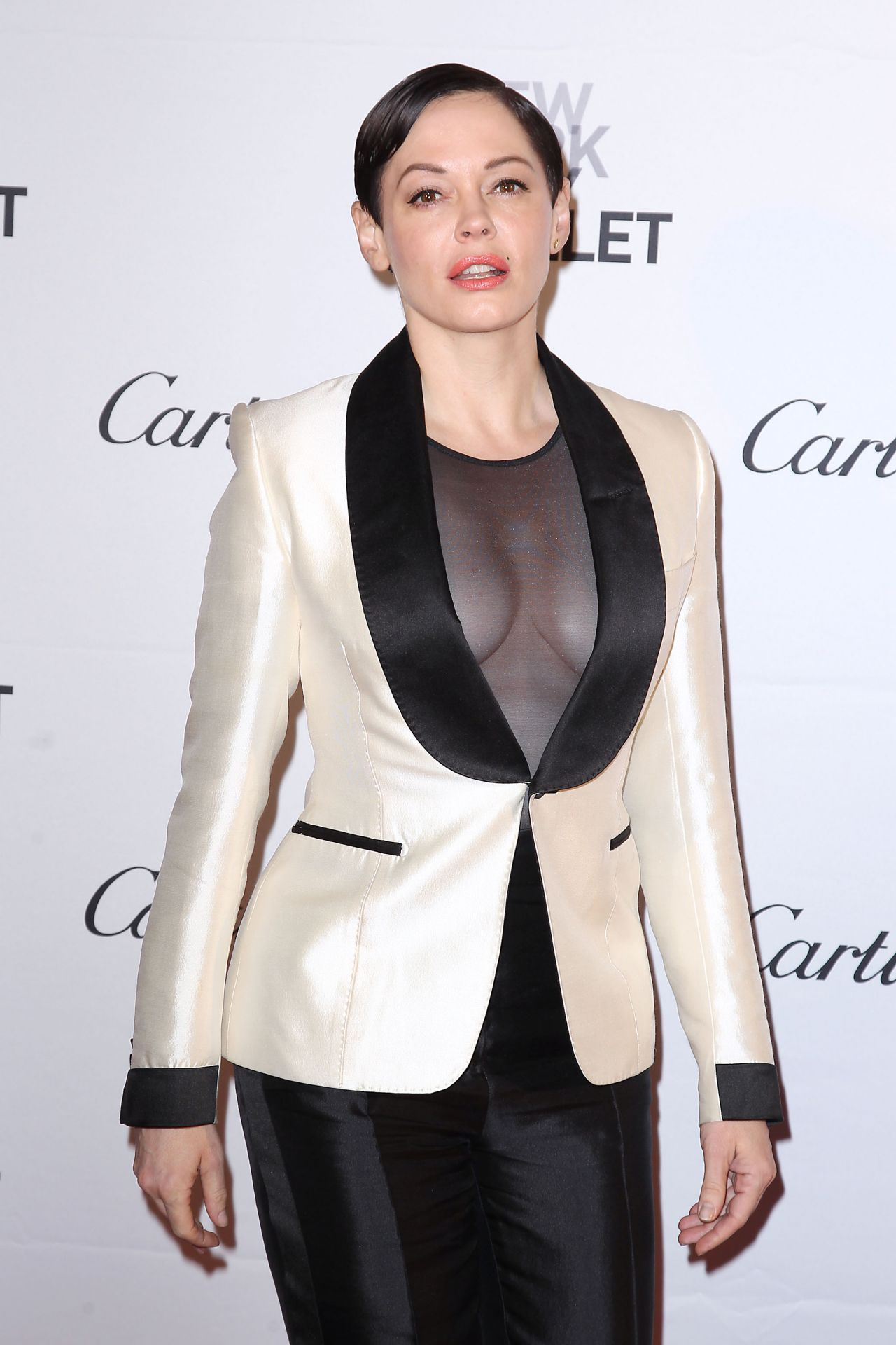 Rose Mcgowan 2015 New York City Ballet Fall Gala