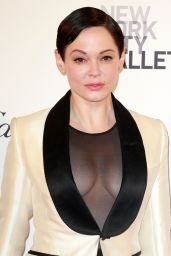 Rose McGowan - 2015 New York City Ballet Fall Gala