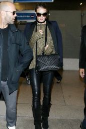 Rosie Huntington-Whiteley Airport Style - at LAX Airport, October 2015