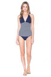 Rosie Tupper - Shoshanna Swimwear 2016