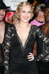 Rumer Willis With Blond Hair - at