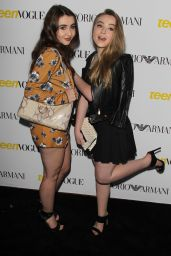 Sabrina Carpenter – 2015 Teen Vogue Young Hollywood Issue Launch Party in Los Angeles