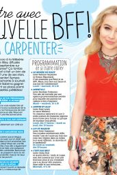 Sabrina Carpenter - COOL! Magazine France October 2015 Issue