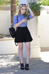Sabrina Carpenter - Hollywood Records Office in Burbank, October 2015