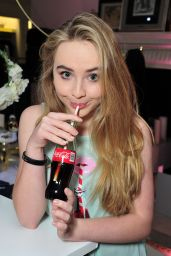 Sabrina Carpenter – Launch Party for WILDFOX Loves Coca-Cola Capsule Collection, October 2015