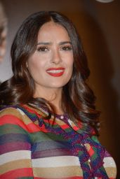 Salma Hayek - Prix Lumiere Ceremony - 2015 Festival Lumiere in Lyon, France