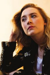 Saoirse Ronan - Backstage Magazine October 2015