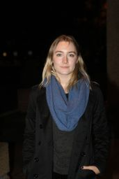Saoirse Ronan - RTE Studio For The Late Late Show, Dublin, October 2015