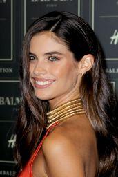 Sara Sampaio – BALMAIN X H&M Collection Launch in New York City