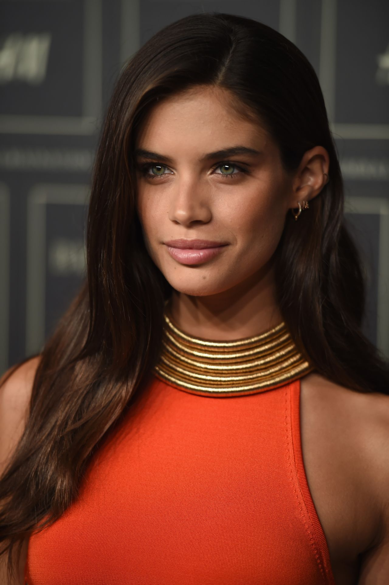 Sara Sampaio Balmain X H Amp M Collection Launch In New York