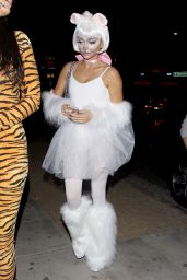 Sarah Hyland - Leaving Le Jardin Night Club in Hollywood, October 2015