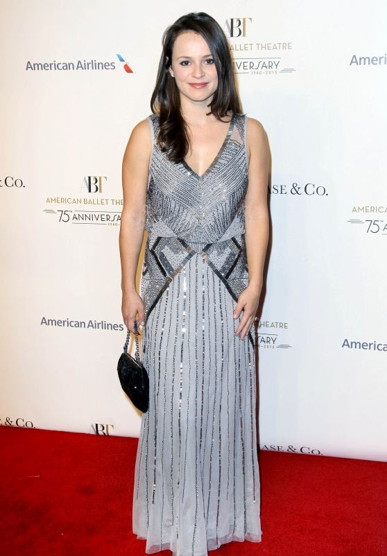 Sasha Cohen – American Ballet 75th Anniversary Fall Gala in New York City