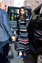 Selena Gomez - At SiriusXM Studios in New York City, October 2015