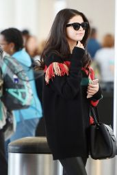 Selena Gomez - Departing From JFK Airport in New York City, October 2015