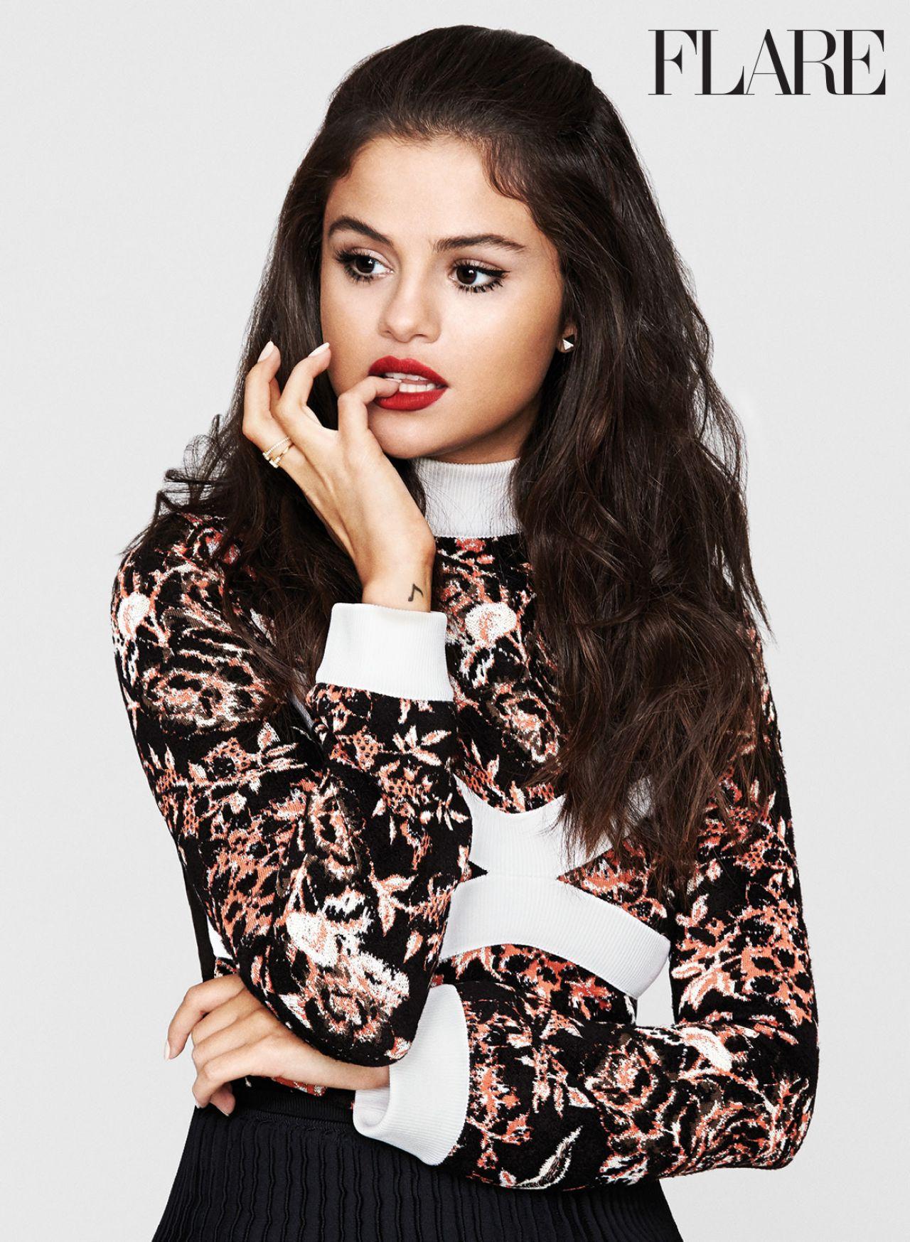 Selena Gomez – Flare Magazine November 2015 Issue