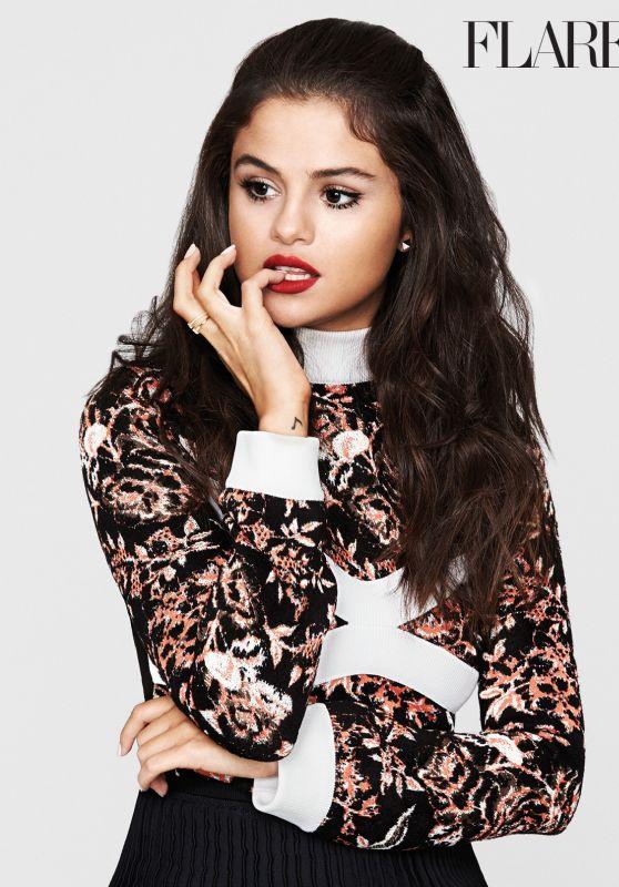 Selena Gomez - Flare Magazine November 2015 Issue