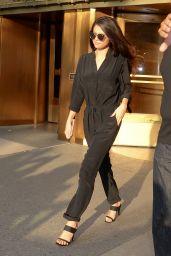 Selena Gomez - Leaving the iHeartRadio Studios in New York City, October 2015