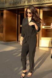 Selena Gomez - Leaving the iHeartRadio Studios in New York City, October 2015