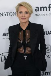 Sharon Stone – 2015 amfAR's Inspiration Gala Los Angeles in Hollywood