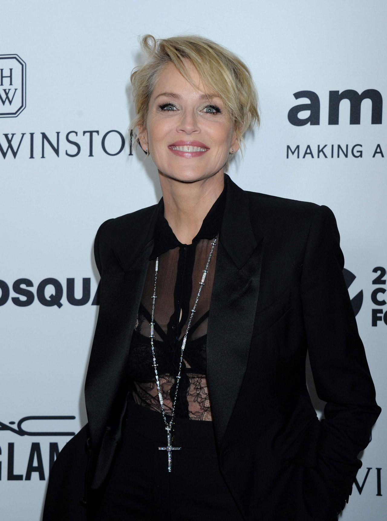 Sharon Stone – 2015 amfAR's Inspiration Gala Los Angeles in ...