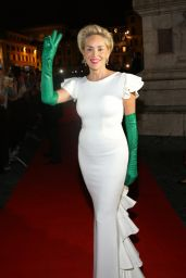 Sharon Stone - 2015 Celebrity Fight Night Italy Gala Benefiting the A.Bocelli Foundation