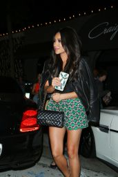 Shay Mitchell Night Out - Leaving Craig