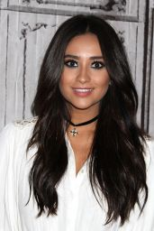 Shay Mitchell - Shay Mitchell AOL BUILD Portraits in New York City, October 2015