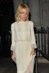 Sienna Miller - Out in London, October 2015