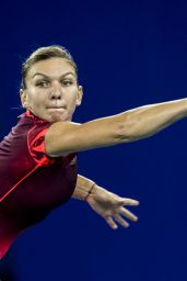 Simona Halep – 2015 WTA Wuhan Open in China – 3rd Round