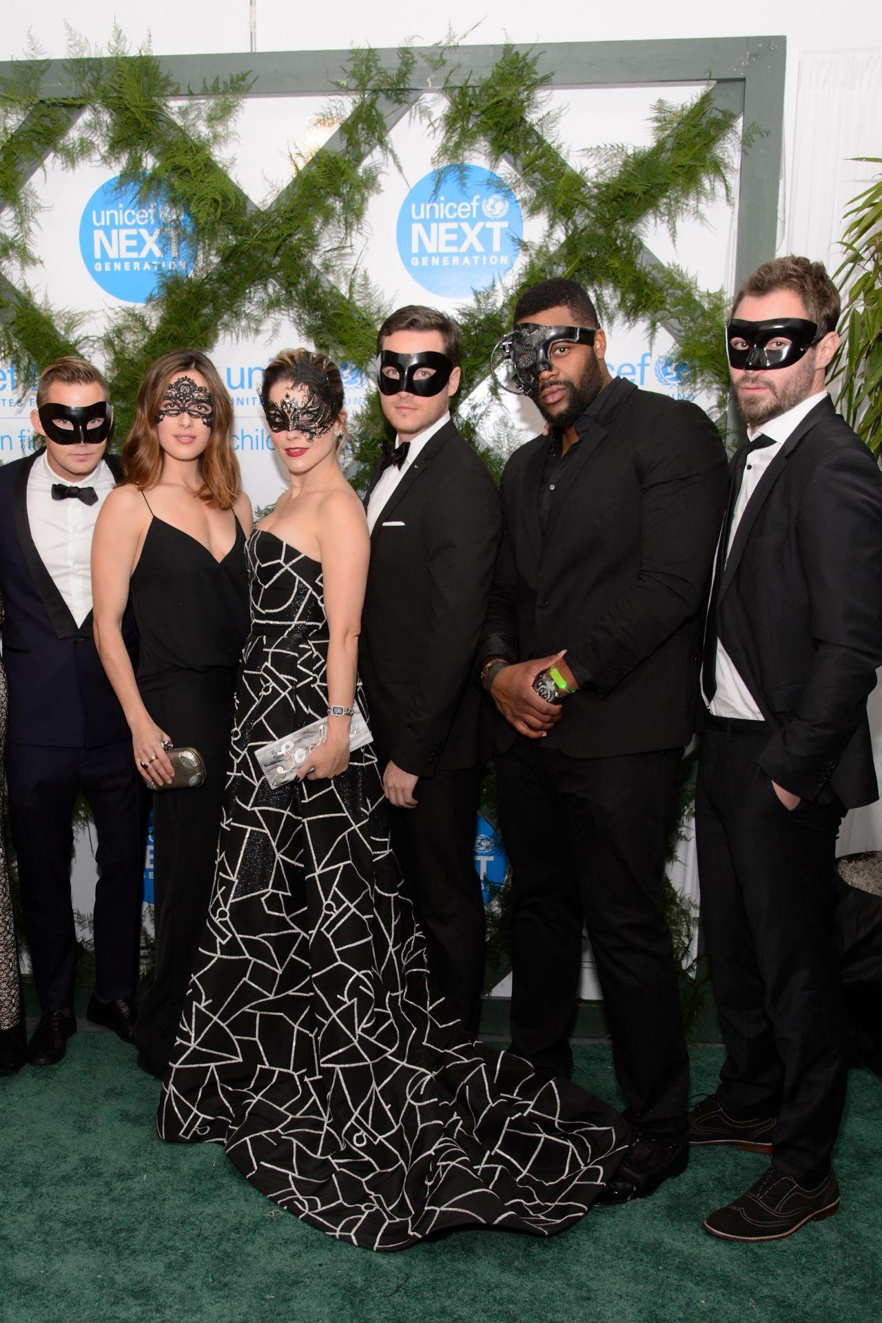 Sophia Bush Unicef Neverland Masquerade Ball In Chicago