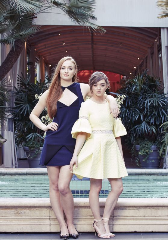 Sophie Turner & Maisie Williams – The New York Times Photoshoot, March 2015 (Part II)