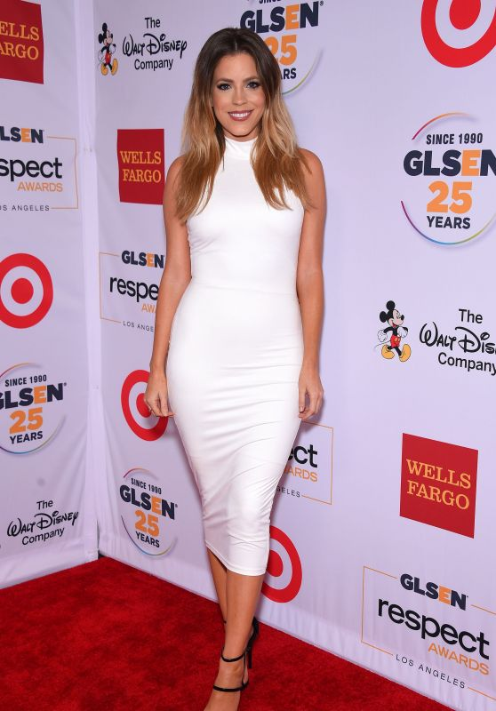 Stephanie Bauer - 2015 GLSEN Respect Awards in Beverly Hills