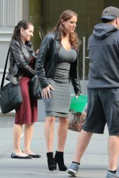 Stephanie McMahon - Out in New York City, October 2015