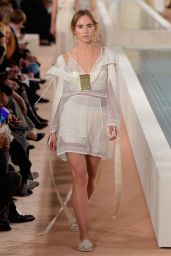 Suki Waterhouse - Balenciaga Fashion Show in Paris, October 2015