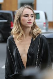 Suki Waterhouse - Stella McCartney Show - Paris Fashion Week, October 2015