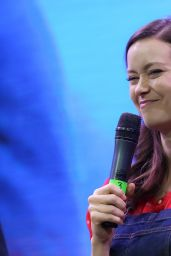 Summer Glau - 2015 Comic-Con in Moscow