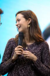 Summer Glau - Comic-Con in Moscow, October 2015