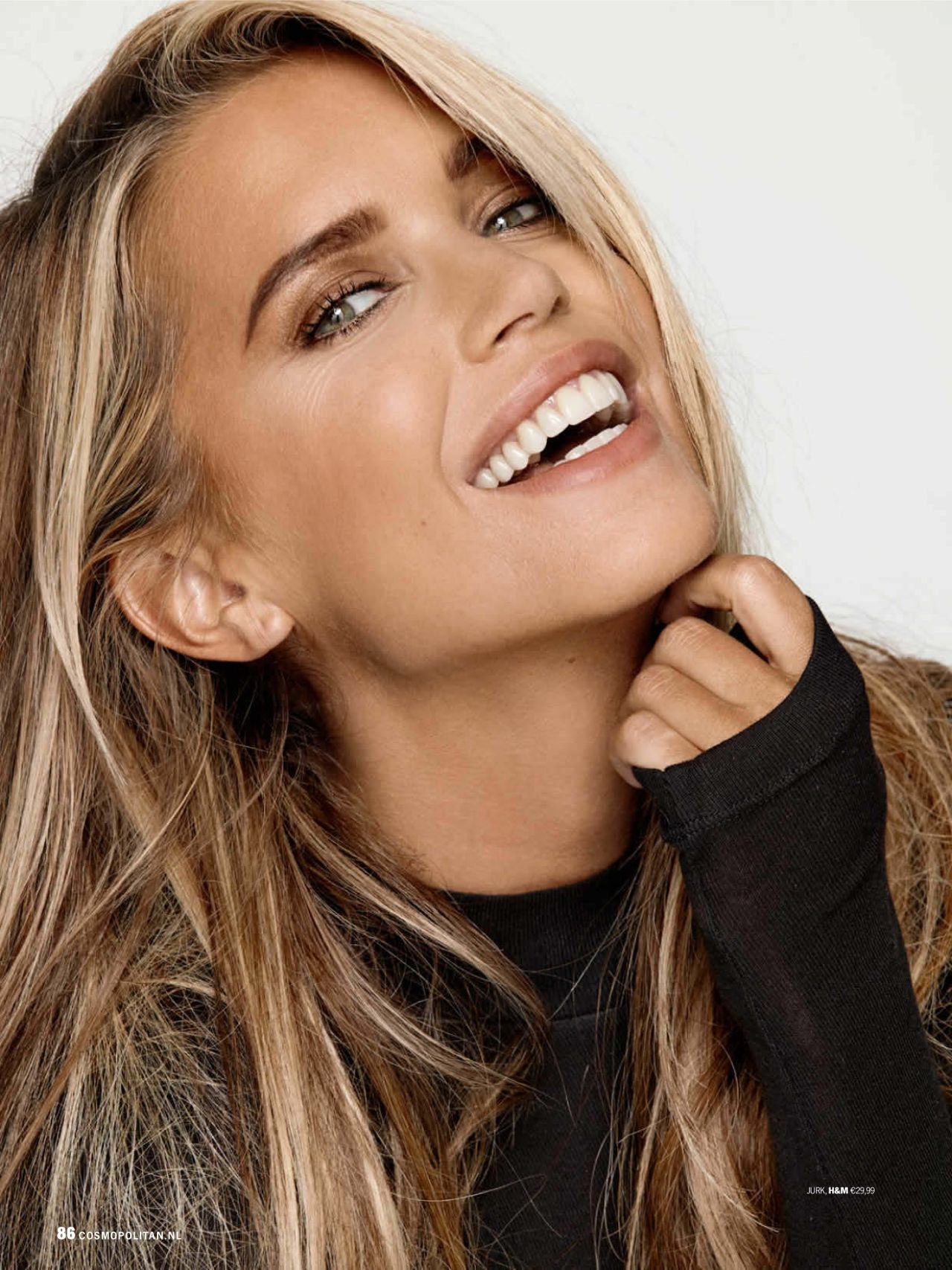 Sylvie Meis Cosmopolitan Magazine Netherlands November