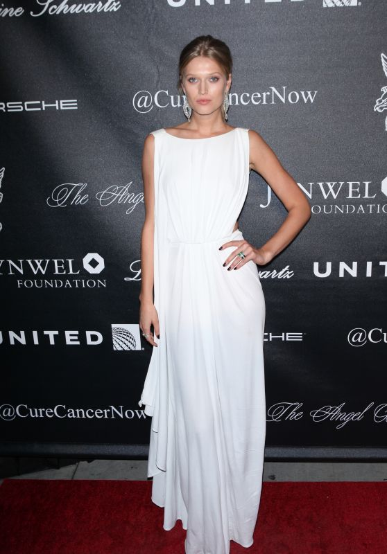 Toni Garrn - 2015 Angel Ball  at Cipriani Wall Street in New York