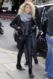 Tori Kelly - Arriving at the Kiss FM Radio Studios in London, October 2015
