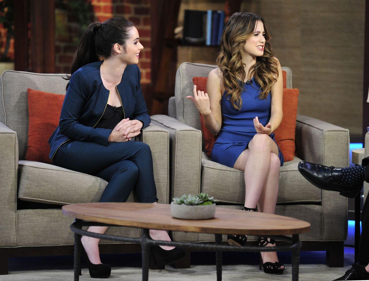 Vanessa And Laura Marano Good Day La Fox 11 At Fox
