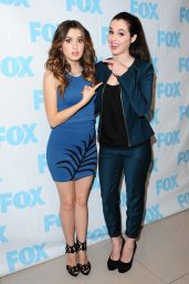 Vanessa and Laura Marano - Good Day LA Fox 11 at Fox Studios in Los Angeles